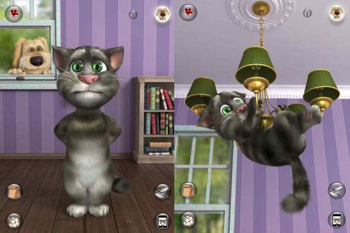 Говорящий кот как установить