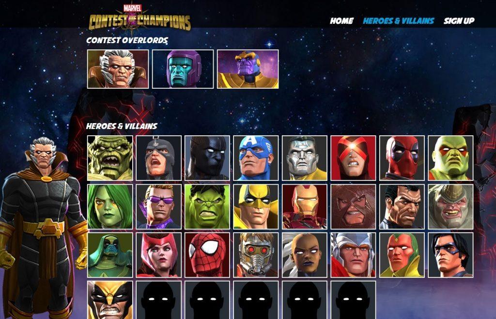 Скачать взломанную игру marvel: битва чемпионов на много денег и.