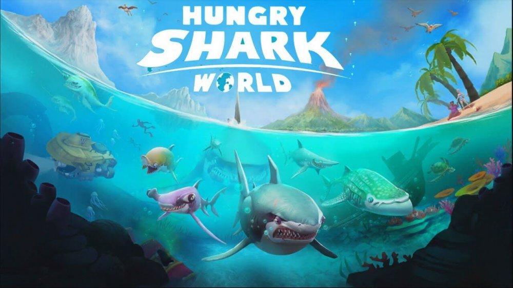 Hungry Shark World скачать